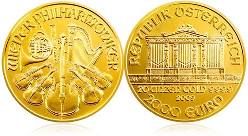 Austrian Philharmonic Gold Coin