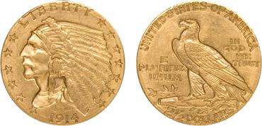 $2.50 Indian Half Eagle