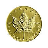 Canadian Maple Leaf Gold Coin